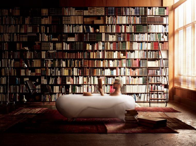 original diseño sala libros