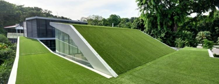 original diseño terrazas modernas césped