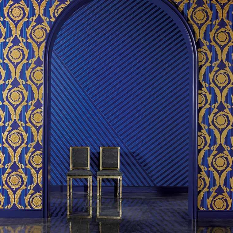Papel pintado barato originales dise os de wallcover - Papel pintado diseno ...