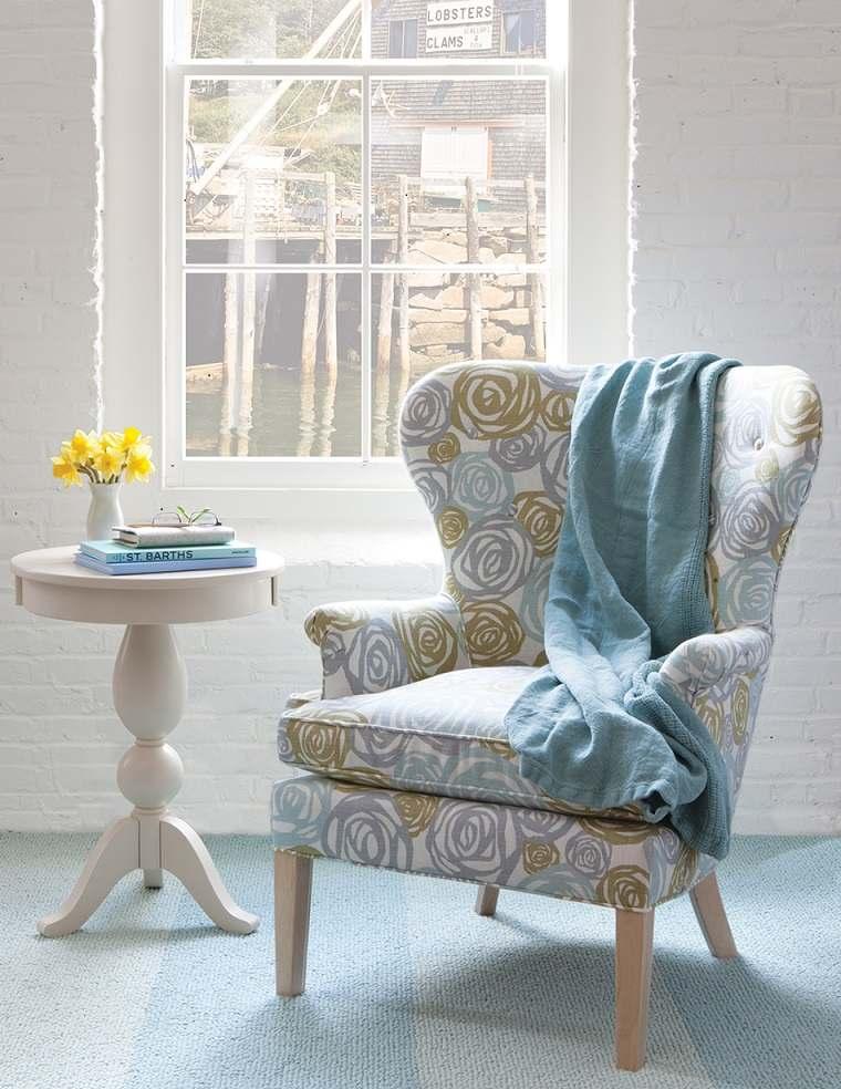 original diseño sillón tapizado