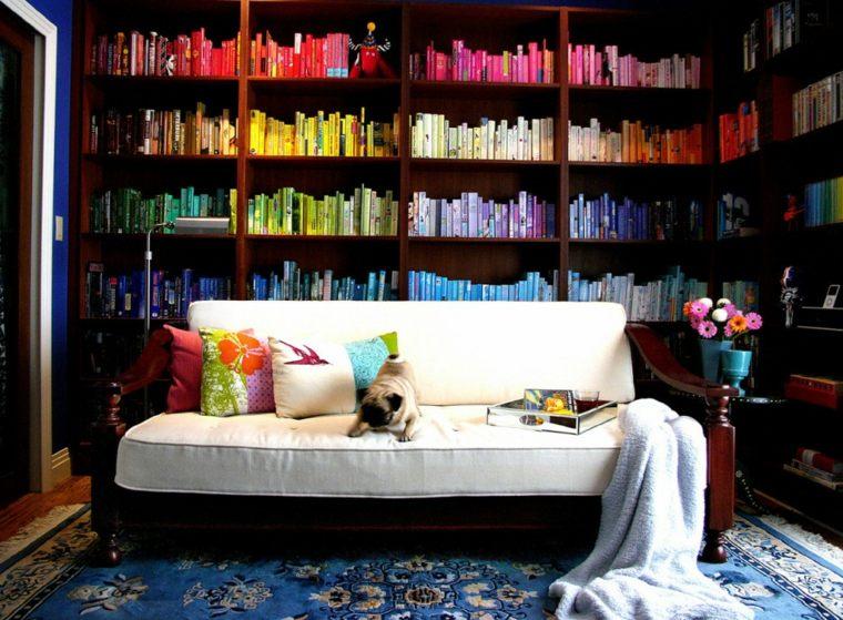 original diseño libros colores
