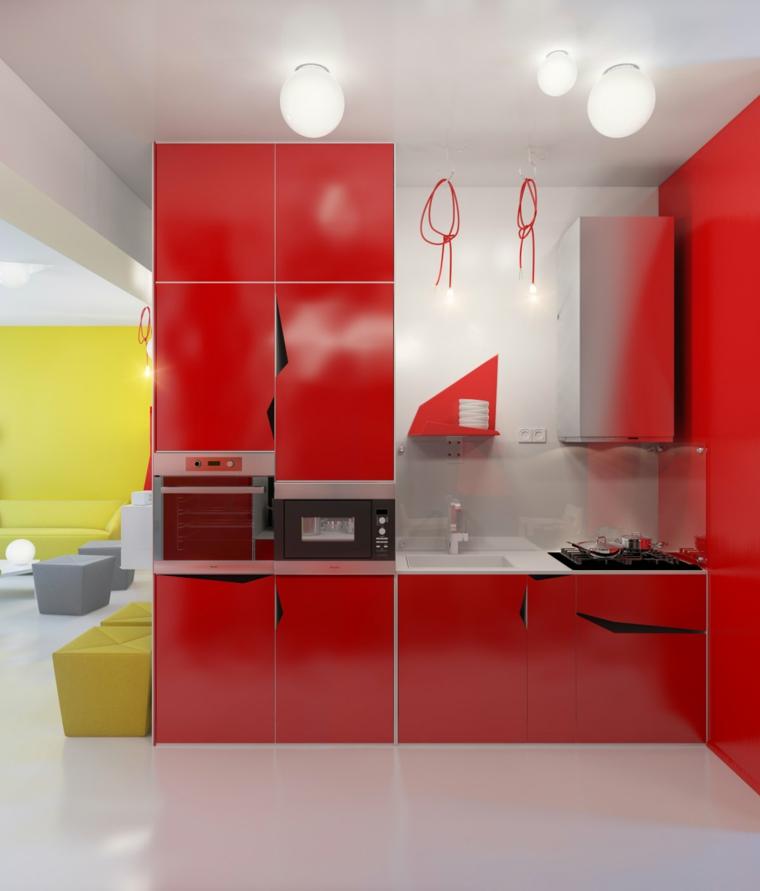 original diseño moderno muebles cocina