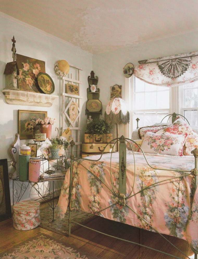 original decoracion dormitorio estilo vintage