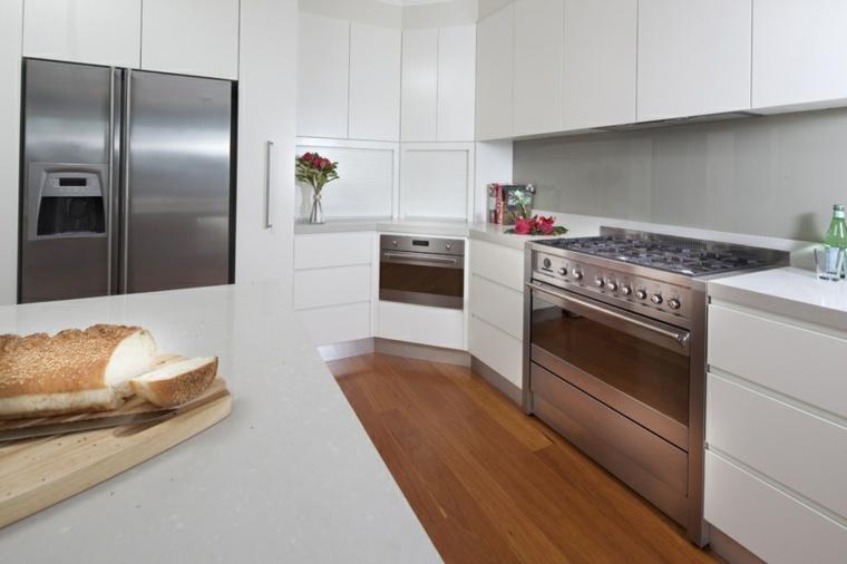original diseño cocina moderna blanca