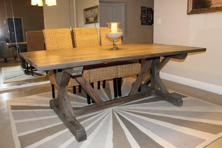 original diseño madera mesa madera