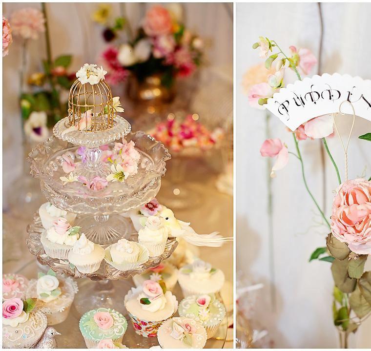 decoracion boda vintage fuente