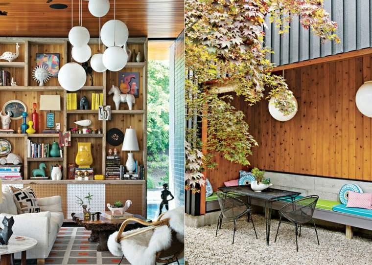 originales diseños madera natural