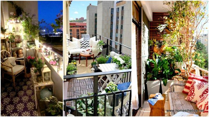 La primavera en nuestra terraza 25 dise os - Decoracion balcones pequenos ...