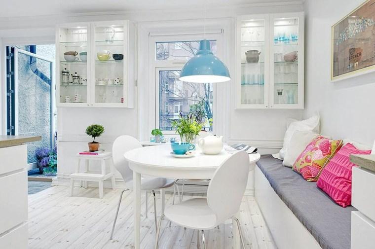 originales diseños espacios blancos