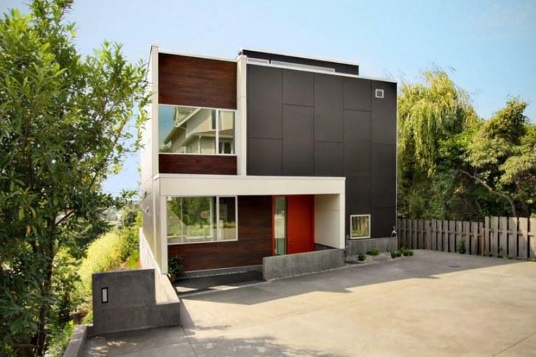 originales fachadas de casas modernas