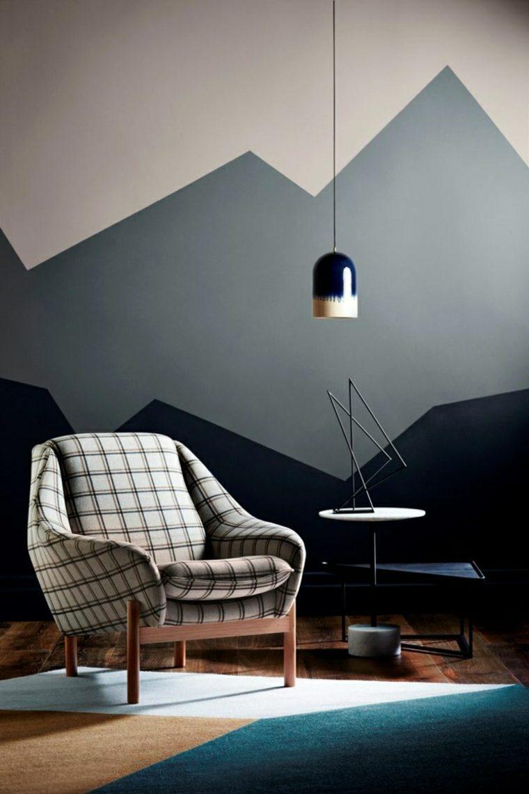 originales diseños interiores modernos colores