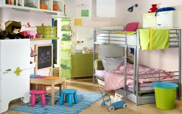 originales diseños dormitorio muchos juguetes