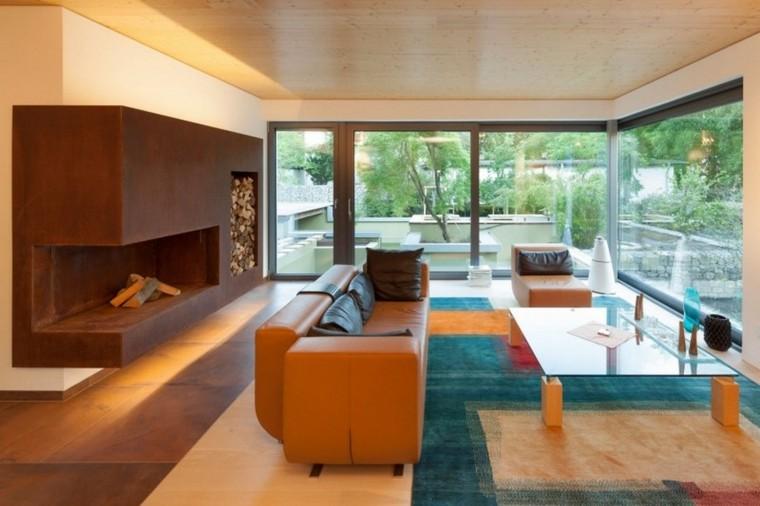original diseño salon colores moderno
