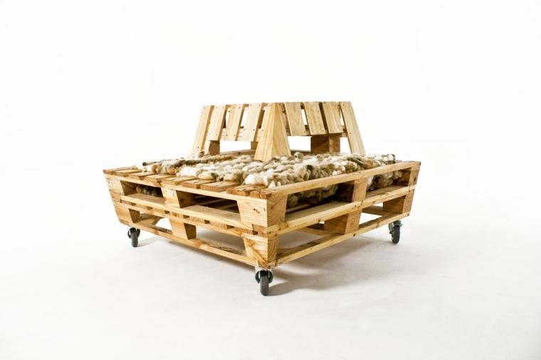 oriignal banco movil madera reciclada