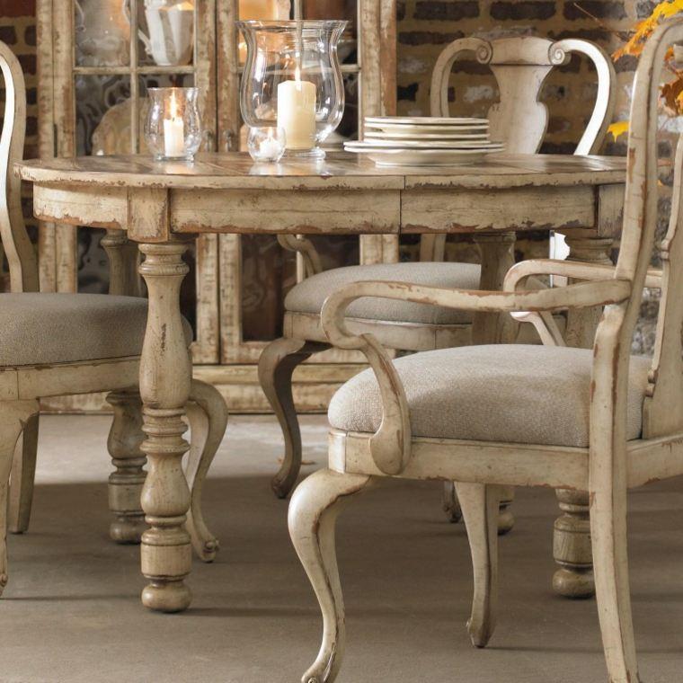 oriignales muebles desgastados retro