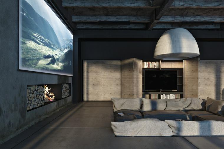 oroginal diseño salón diseño industrial