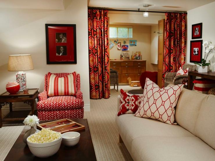 cortinas para salon ideas decoraciones variantes intenso