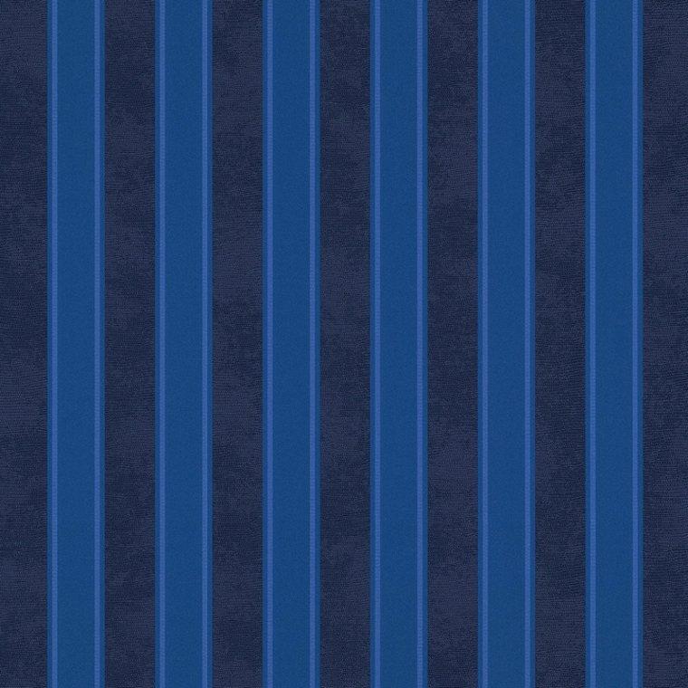 papel pintado bandas azules verticales