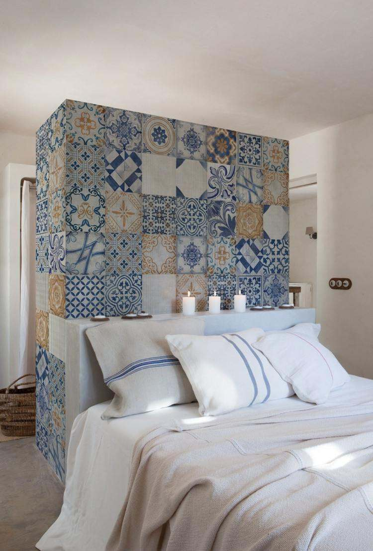 papel pintado azulejos árabes