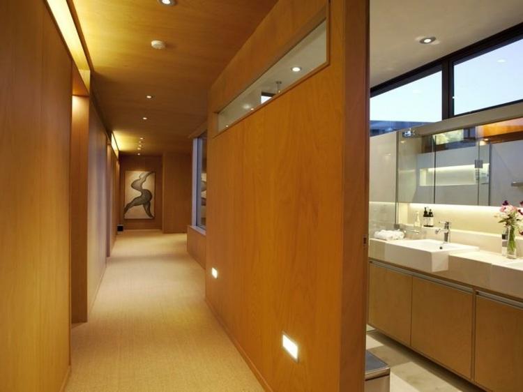 paredes detalles modernos baños led