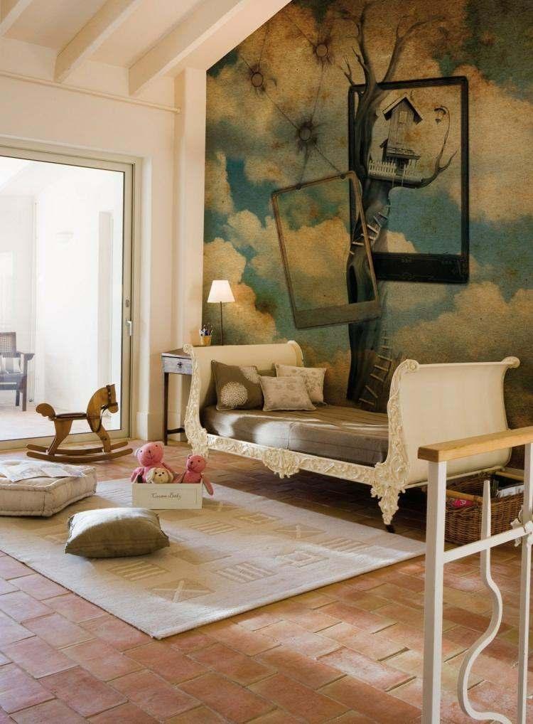 Paredes dise o de habitaciones para diferentes gustos y for Disenos para paredes