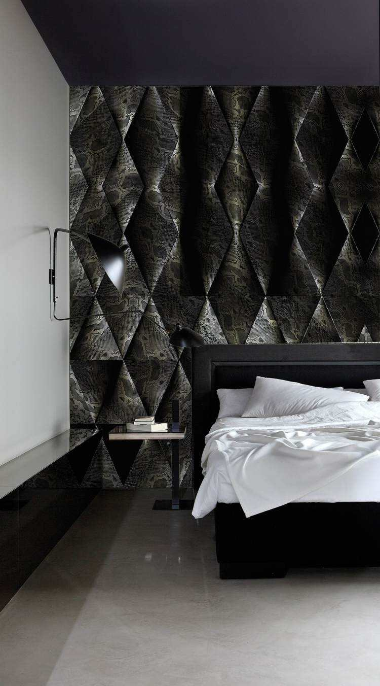 Paredes dise o de habitaciones para diferentes gustos y for Diseno de paredes con cuadros
