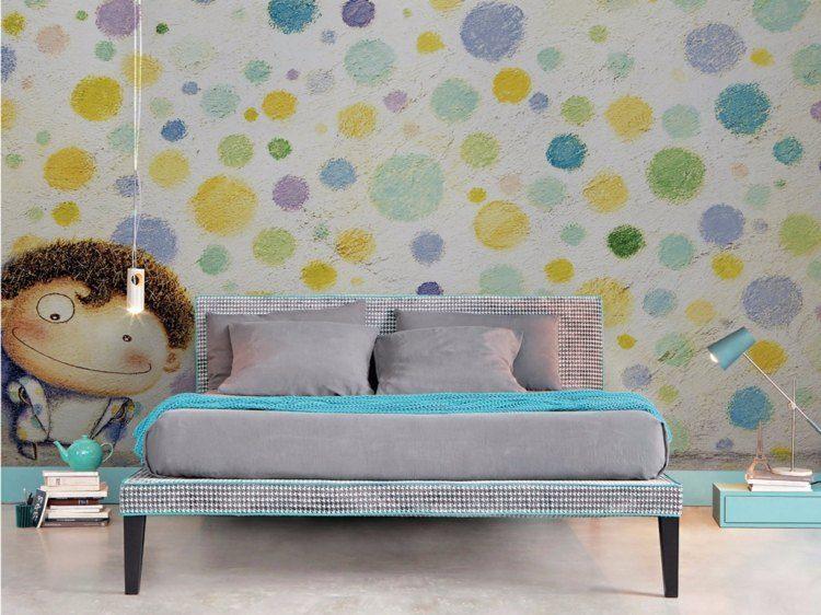 paredes diseño soluciones infantiles detalles flores