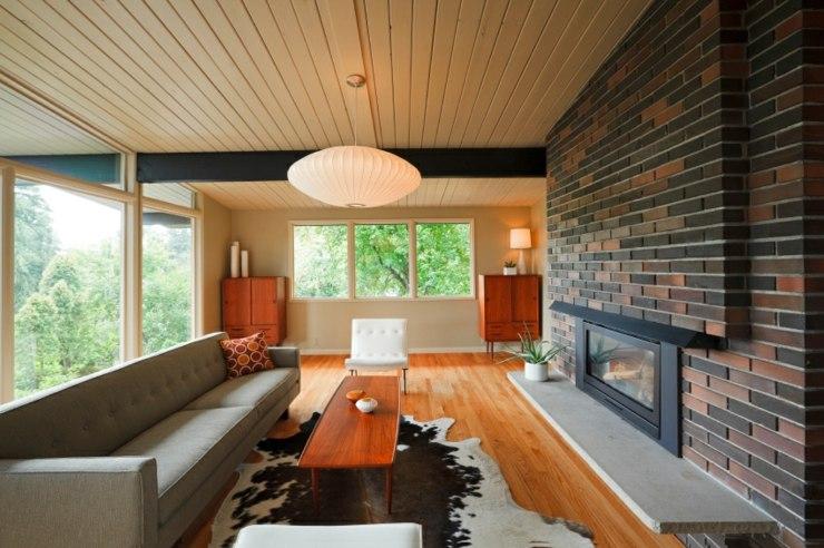 paredes ladrillos madera tejados calido