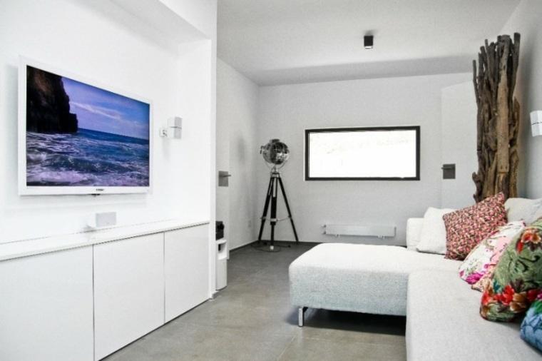 Paredes 50 opciones de televisores en el sal n - Paredes de salon ...