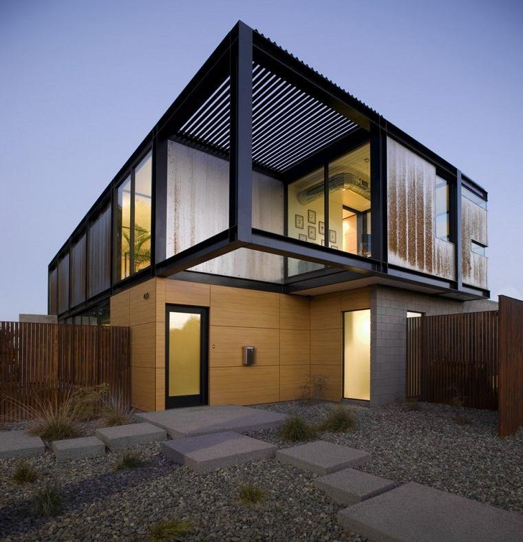 patio trasero diseño moderno