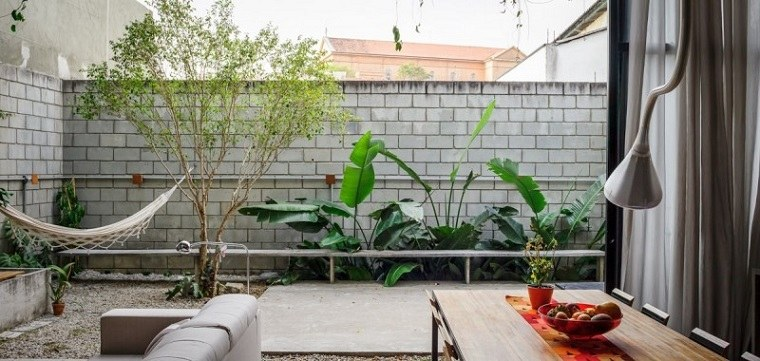 patio pequeño diseño moderno