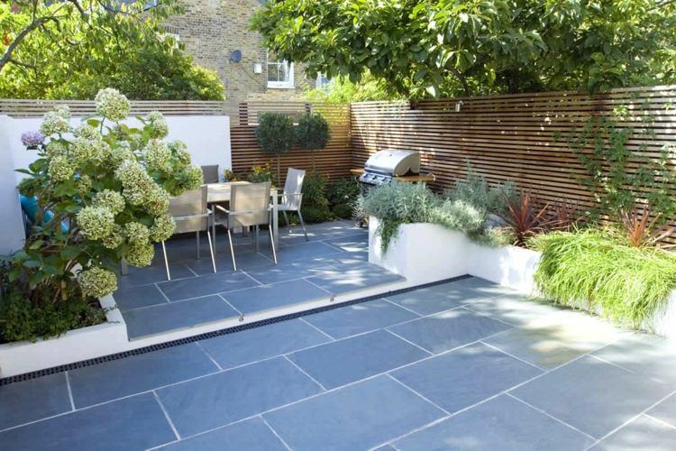 diseño terraza celosía madera