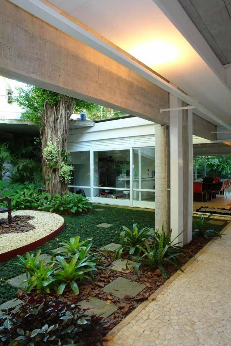 diseños modernos jardines pequeños