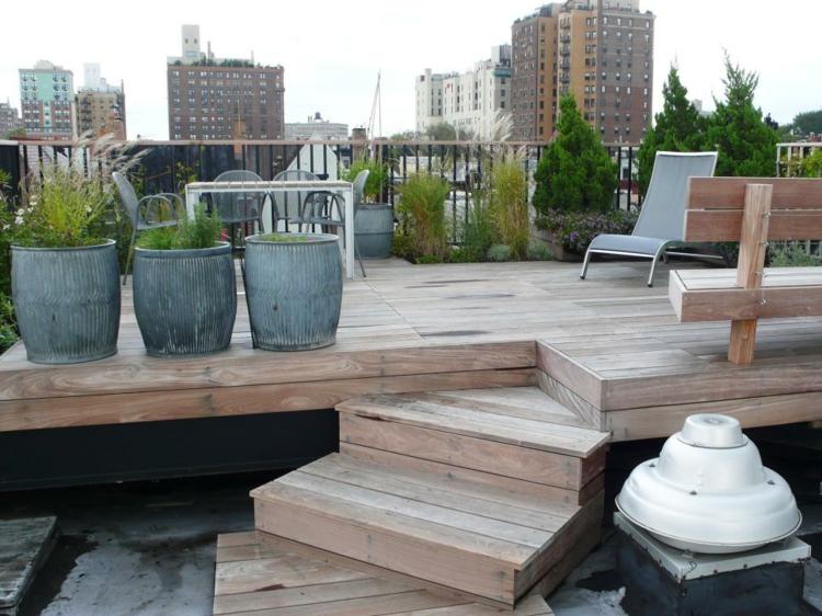 plataforma madera soluciones estilos casas calles