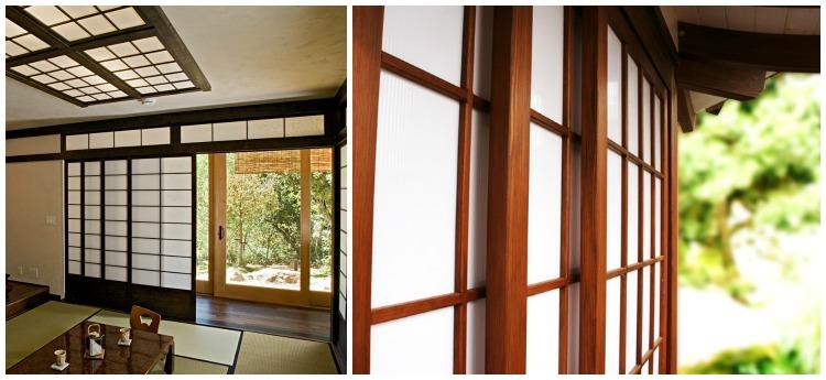 puertas correderas estilo japonés
