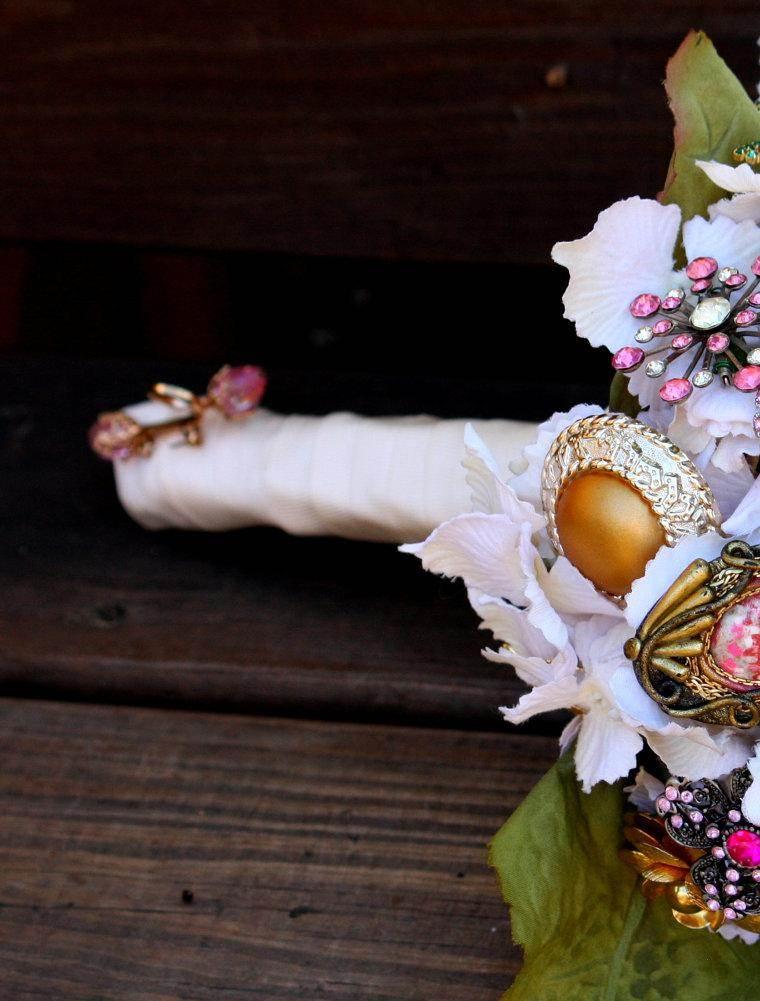 ramo flores brochas vintage