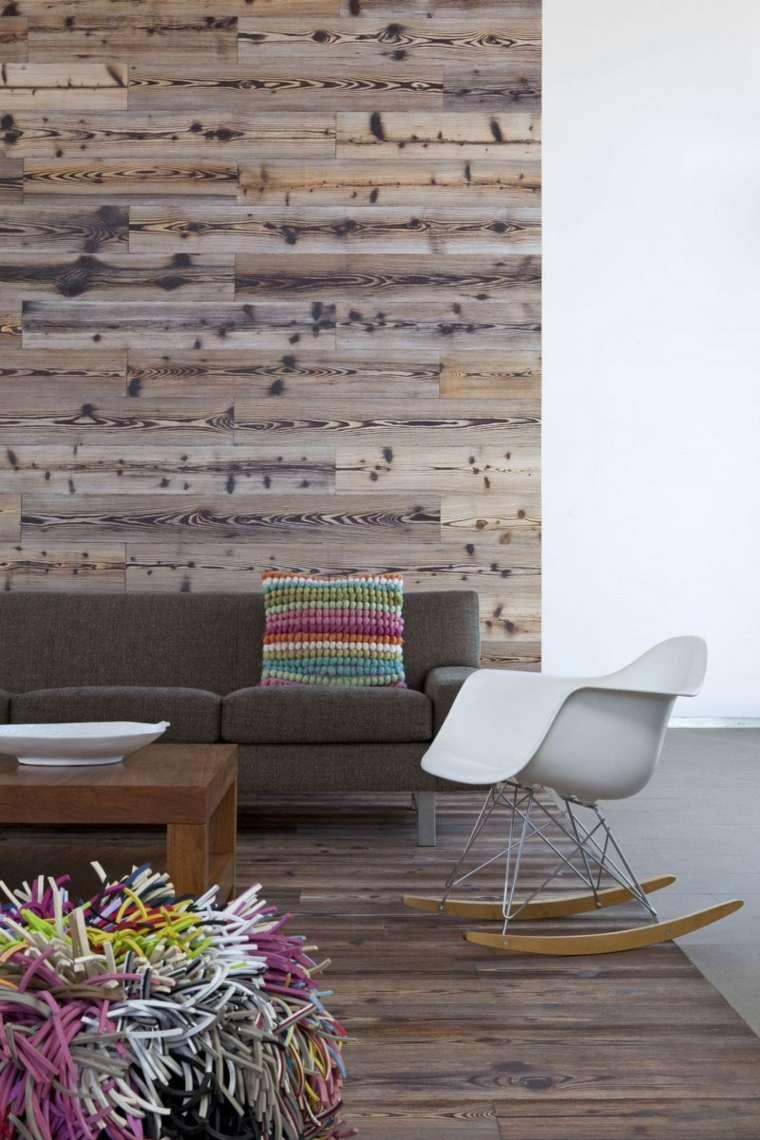 revestimiento madera natural estilo moderno