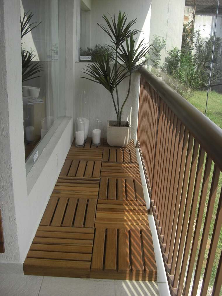 revestimiento suelo terraza baldosas madera