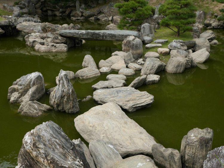 rocas naturales senderos ideas puentes verdes