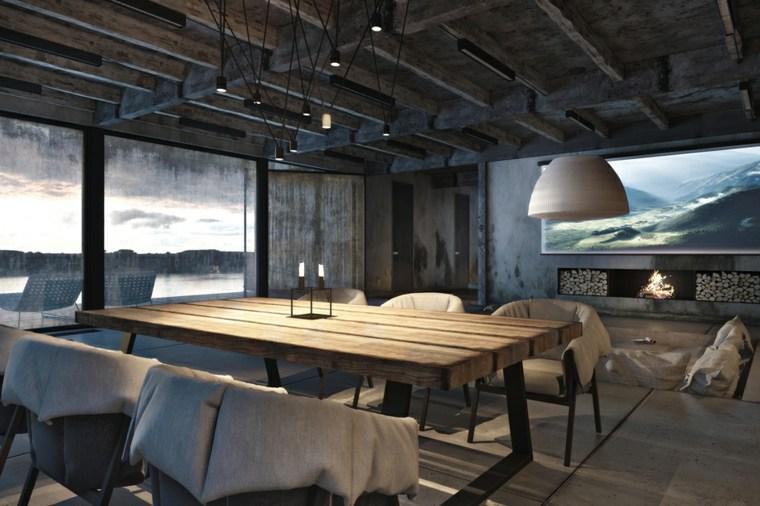 salón comedor original diseño