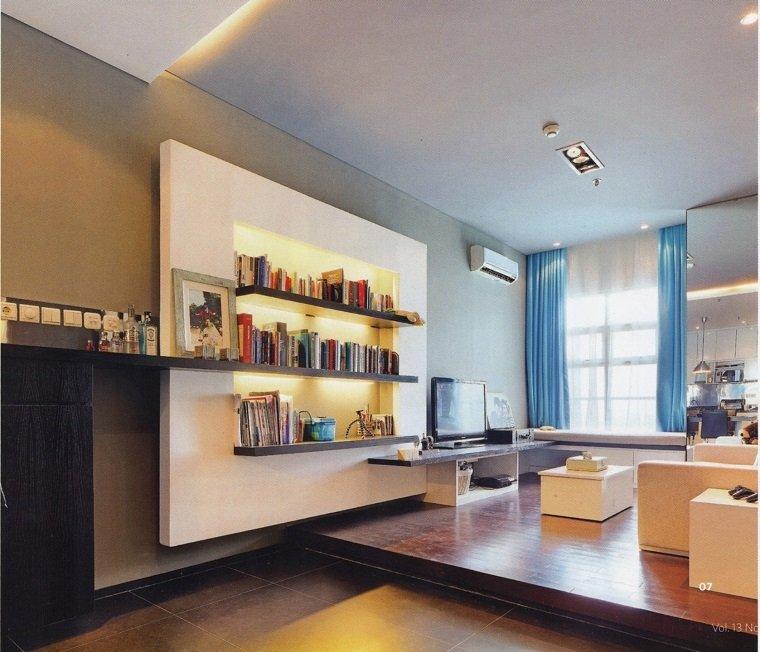 salón sala estar apartamento loft