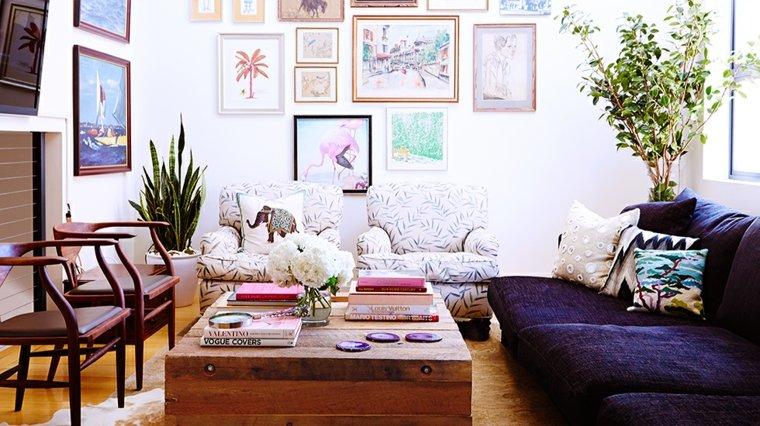 ideas de decoración de la sala de estar boho Decoracion De Interiores De Estilo Boho Chic 38 Diseos