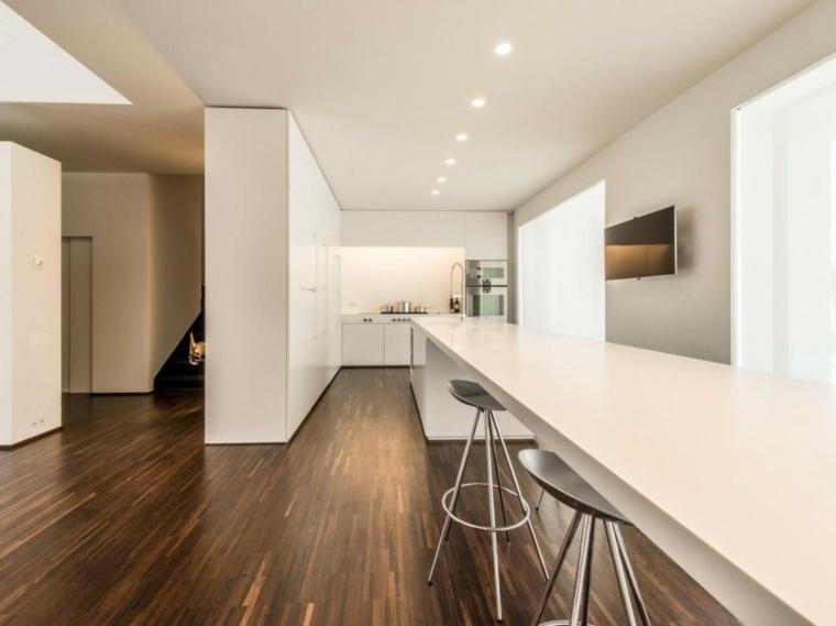 salon comedor estilo minimalista