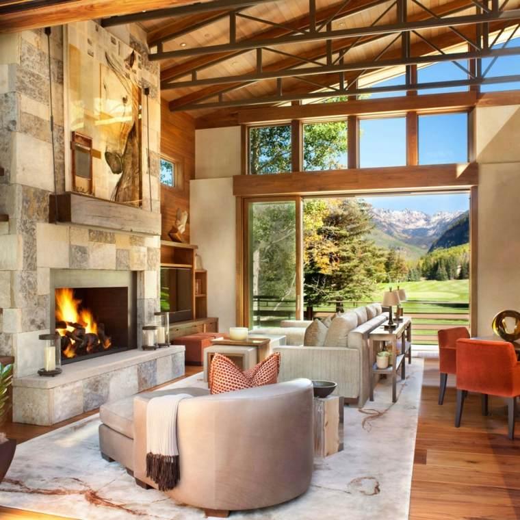 salones decoracion moderna residencia lujosa ideas