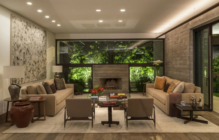 salones decoracion moderna vistas plantas ideas