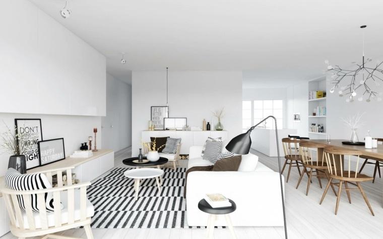 salon moderno sala estar escandinavo