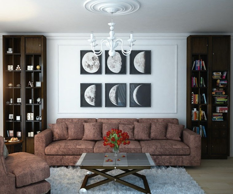salones clasicos modernos distintos disenos cuadros ideas