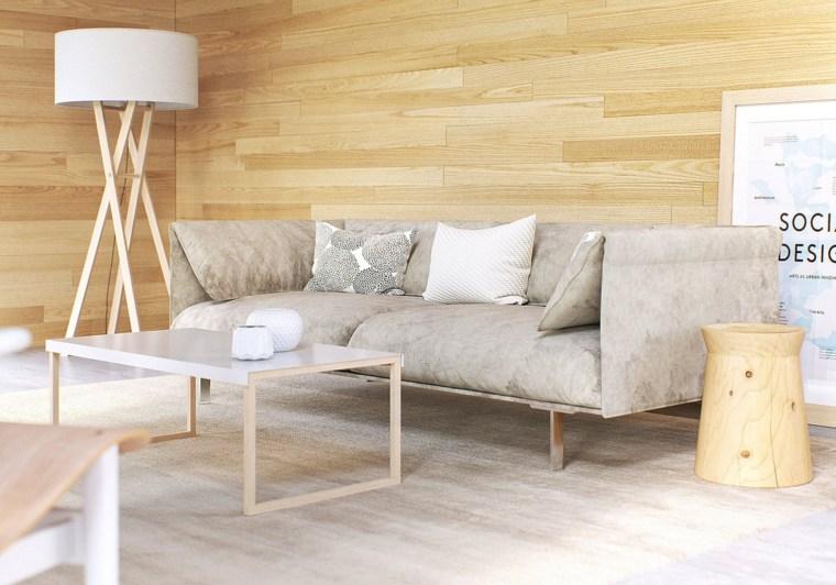 salon clasic modernos distintos disenos madera luminosa ideas