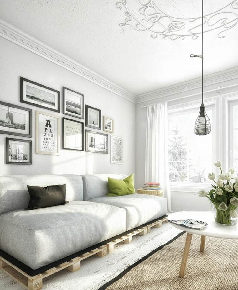 salones modernos distintos disenos muebles palett ideas