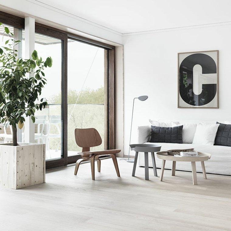 salones modernos distintos disenos sillon madera ideas